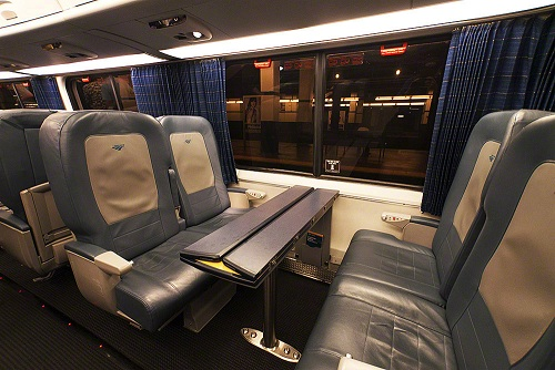 Amtrak Acela train car